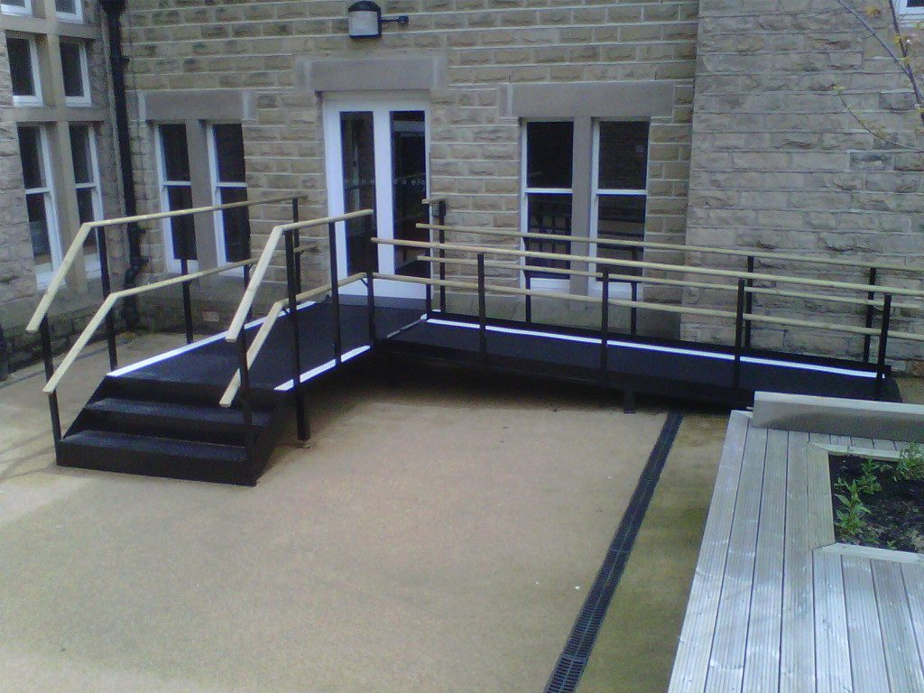 Safety ramps UK Sheffield installation