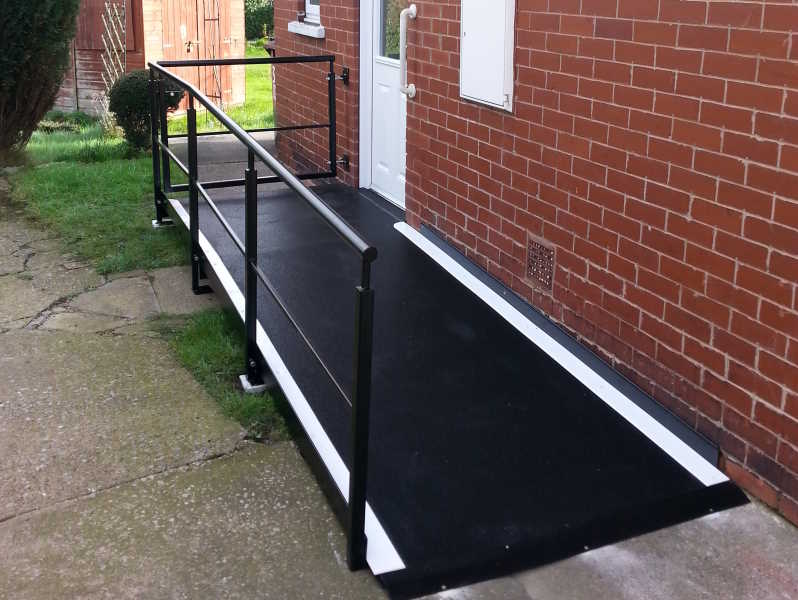 wheelchair access barnsley feb 16 after